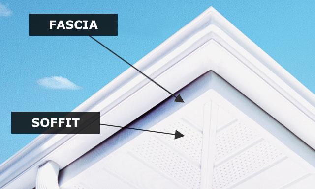 Soffit Fascia Homescape Aluminum